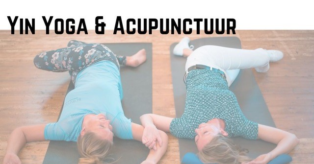 workshop yin yoga en acupunctuur