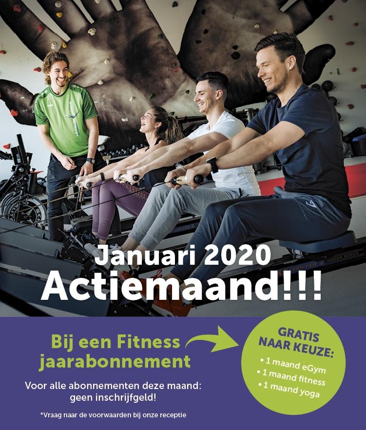 januari actie fitness