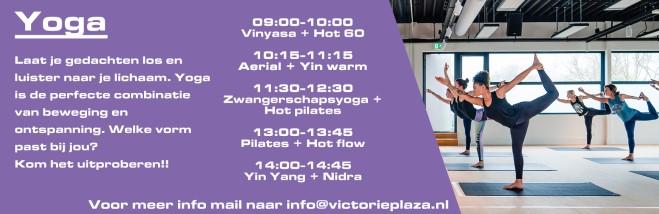 Programma Victorie Plaza Yoga